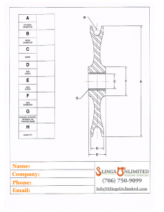 Replacement Wire Rope Sheave Data Sheet