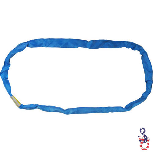 Blue Polyester Round Sling X 18 Feet