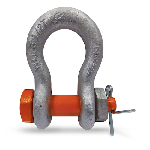"2"" Galvanized Bolt Type Anchor Shackle - CM"