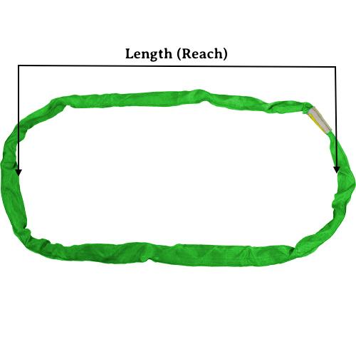 Green Round Sling X 10 Feet