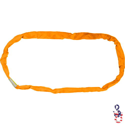 Orange Endless Round Sling X 14 Feet