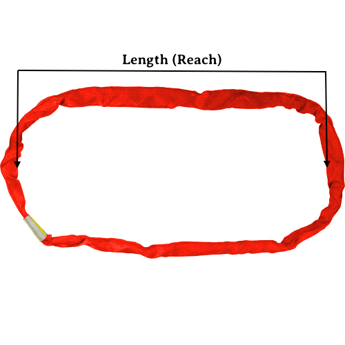 Red Round Sling X 10 Feet