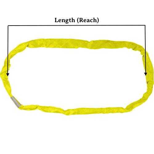 Yellow Round Sling X 10 Feet